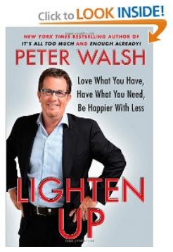 Ruly Bookshelf: Peter Walsh's Lighten Up