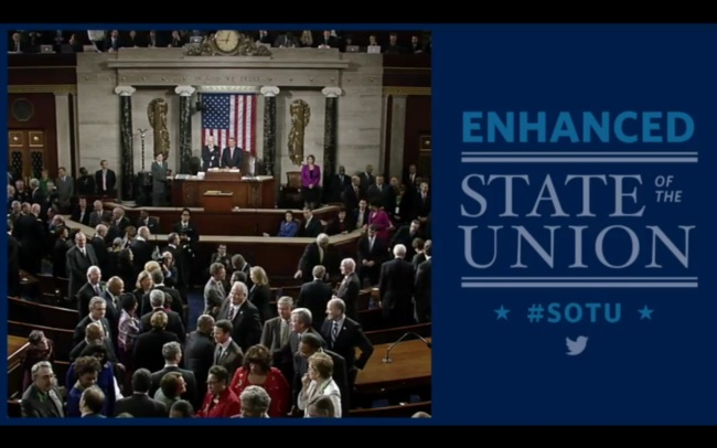 Organization of the State of the Union Address