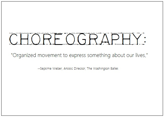 2013-02-25-choreographydefinition