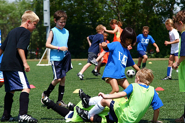 """""""Soccer Camp EGR 7-24-09 10""""  Photo by Steven Depolo.  From the Flickr Creative Commons."""