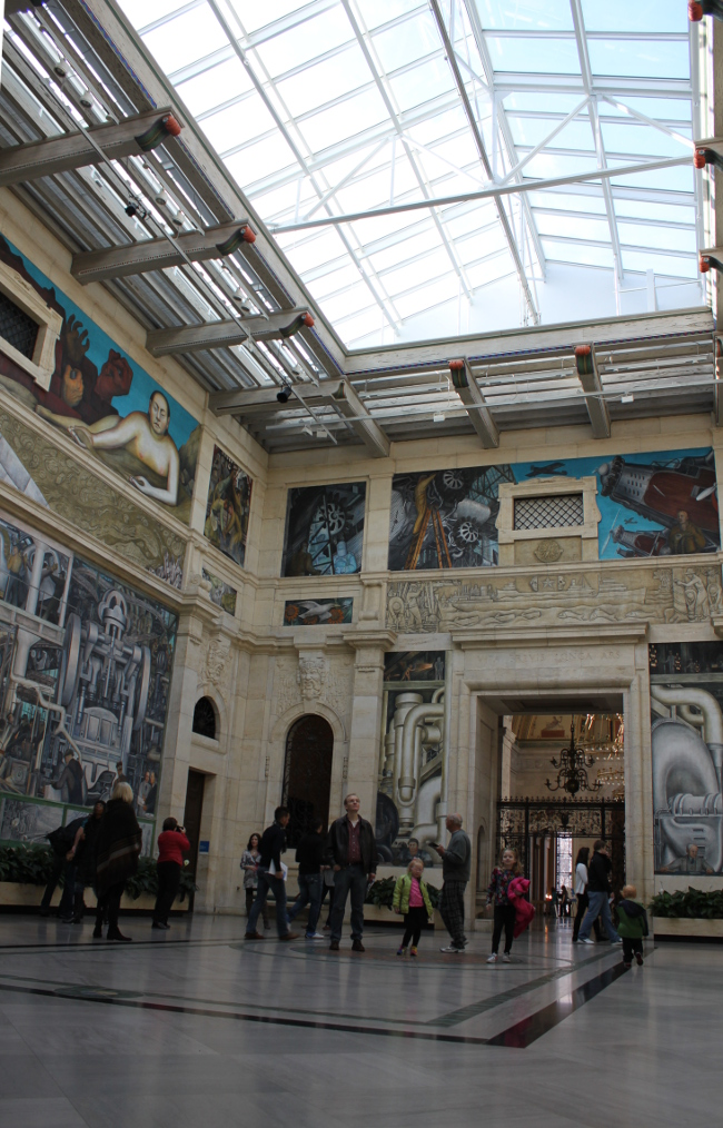 Ruly holiday road trip day two detroit and chicago r u l y for Diego rivera mural detroit institute of arts