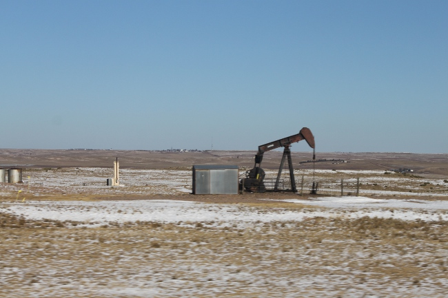 .  . . and pumpjacks.