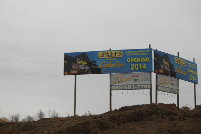 Cabela's is coming!