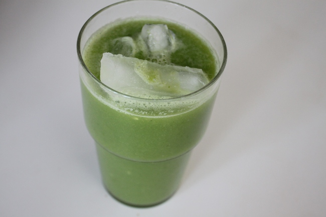 The pear and greens juice.  Delicious!