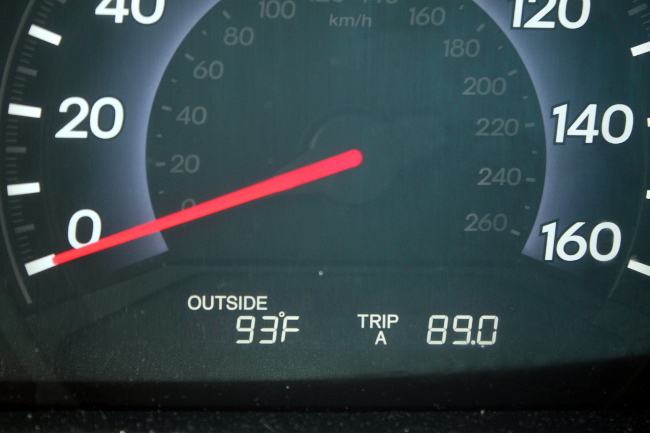 93 degrees with Virginia humidity is HOT!!