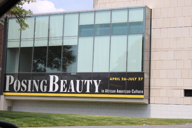 Posing Beauty: a celebraton of African American portraits from the 1890's to the present.
