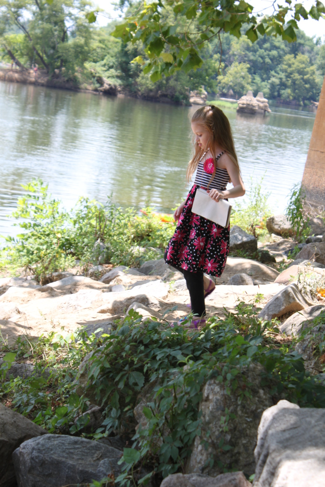 My daughter found this a perfect spot for sketching.