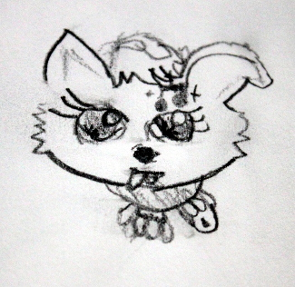 First drawing of an LPS toy