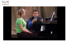 Screenshot from simplymusiconline.com lesson.