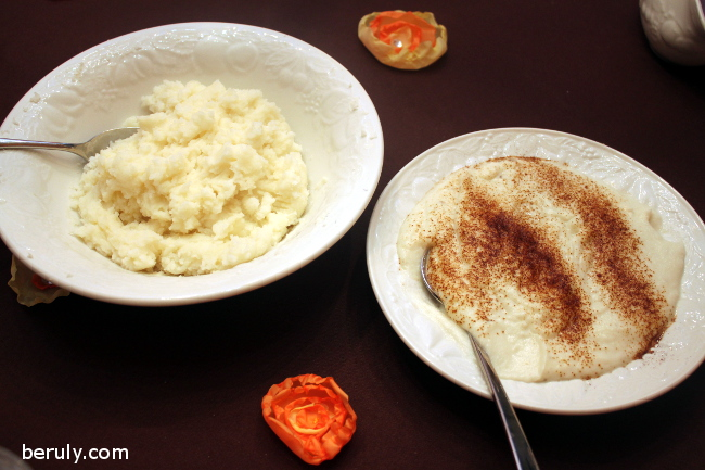 In the match-up between traditional boxed mashed potatoes and the healthy alternative, garlic cauliflower mash, the potatoes were the clear winner!
