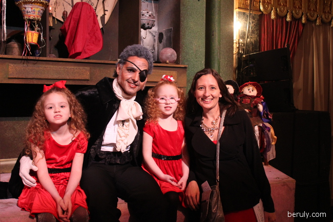 Luis R. Torres was Drosselmeyer.  In addition to being an amazing dancer, he could not have been more charming chatting with the children and posing for photos.