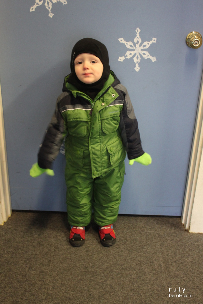 Suited up and ready to ski!