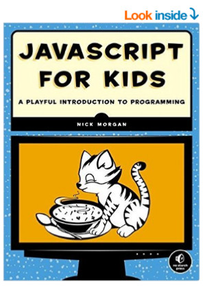 book cover JavaScript for Kids