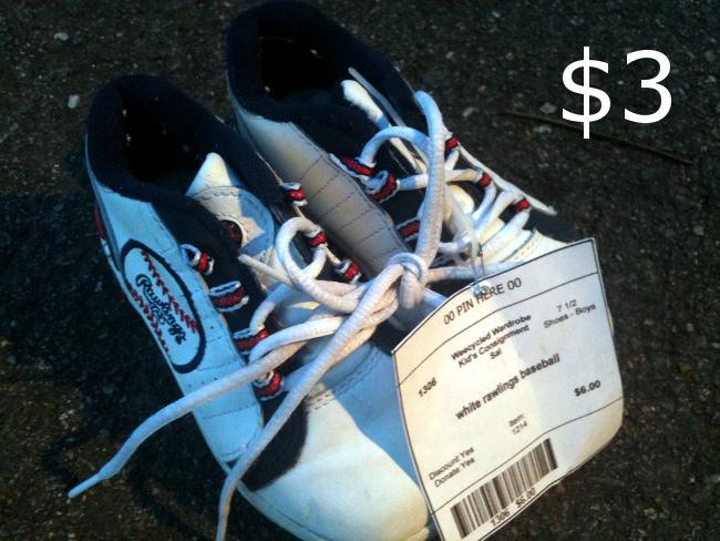 Baseball shoes!  Barely worn.