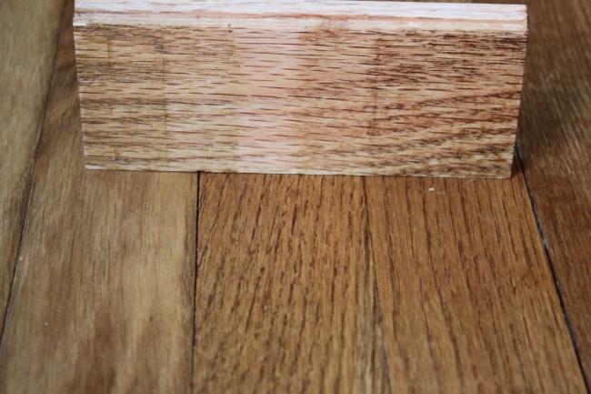 Match Existing Hardwood Flooring