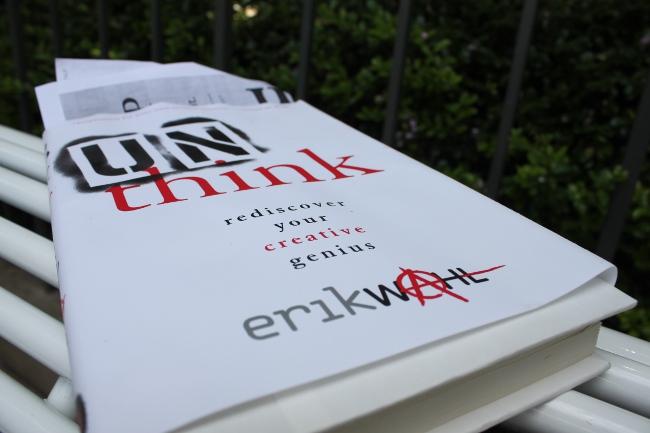 Ruly Bookshelf:  Unthink by Erik Wahl