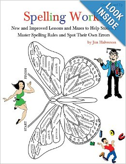 Ruly Bookshelf: Spelling Works by Jim Halverson