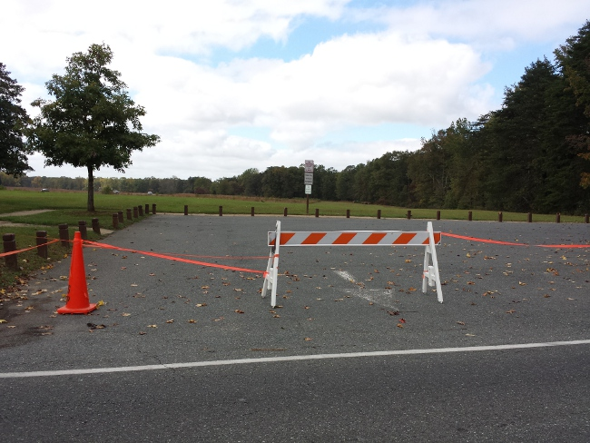 The Fredericksburg area lost access to its Civil War battlefield parks during the shutdown.