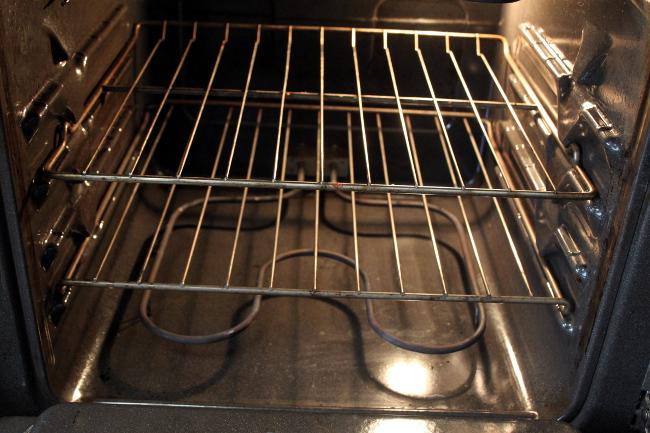 "My ""sanded,"" sparkling oven."