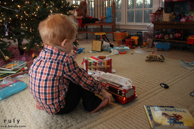 It's been a month since Christmas.  Reflecting on our holiday memories.