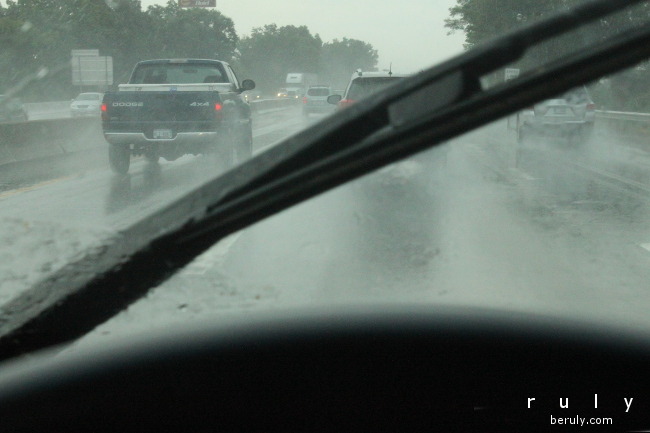 Heavy rainstorms have been commonplace this summer.
