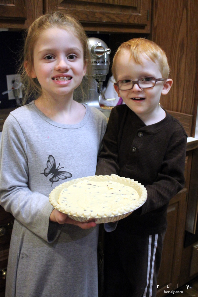 Pie ready for baking!