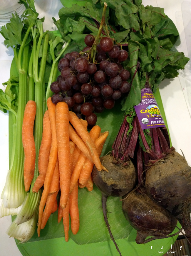 Ingredients for Anti Aging Beet Grape